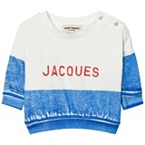 Bobo Choses Blue Jacques Boat Sweatshirt