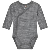 Hust&Claire Bodysuit Wool Grey