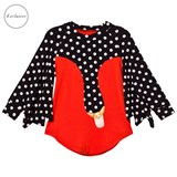 Bang Bang Copenhagen EXCLUSIVE Red Drama Queen Spot Swan Dress
