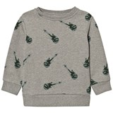One We Like Grey Melange Guitar Sweatshirt
