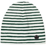 One We Like White and Green Stripe Hat