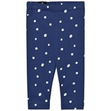 One We Like Blue Dots Baby Leggings