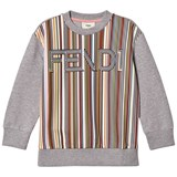 Fendi Multi Fendi Stripe Sweatshirt