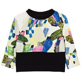 Papu Printed Split Sweatshirt