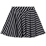 Papu Striped Round Skirt