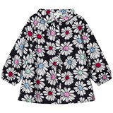 Margherita Kids Black Daisy Smock Shirt