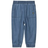 Margherita Kids Chambray Denim Track Pants