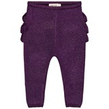 MarMar Copenhagen Purple Night Frill Pax Leggings