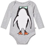 Stella McCartney Kids Grey Penguin Print Body