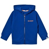 Billybandit Blue Branded Zip Thru Hoodie