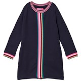 Le Big Navy with Multi Stripe Jersey Dress