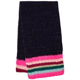 Le Big Navy Stripe Knitted Scarf