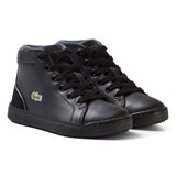 Lacoste Black Explorer Hi-Tops
