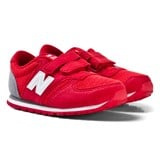 New Balance Red and Grey Trainers