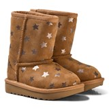 UGG Dark Brown Classic Short II Stars