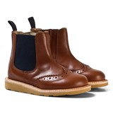 Young Soles Chestnut Leather Francis Boots