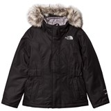 The North Face Black Greenland Down Fur Hooded Jacket