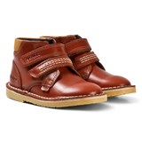 Kickers Tan Velcro Adlar Twin Boots