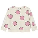 Wynken Cream and Pink Spot Sweatshirt