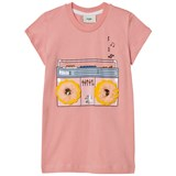 Fendi Pink Stereo with Fluffy Eye Detail Tee