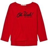 Pepe Jeans Red Oh Yeah Beaded Tee