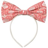 Hucklebones Pink Brocade Giant Bow Headband