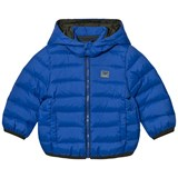 Armani Junior Blue Down Puffer Coat