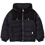 IKKS Black Padded Coat with Zip Detail
