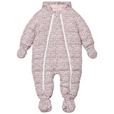Cyrillus Pink Floral Hooded Snowsuit