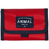 Animal Red and Black Leaf Wallet