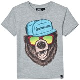 Animal Grey Graphic Skate T-Shirt