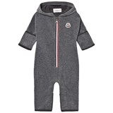 Moncler Grey Jumpsuit with Hood