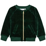 Tao & Friends Green Velvet Gorilla Bomber Jacket