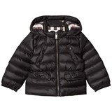 Burberry Black Mini Bronwyn Padded Down Hooded Coat
