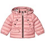 Burberry Pink Mini Bronwyn Padded Down Hooded Coat