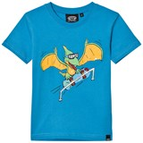 Animal Blue Dinosaur Skate T-Shirt
