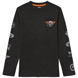 Animal Dark Grey Long Sleeve Skate T-Shirt