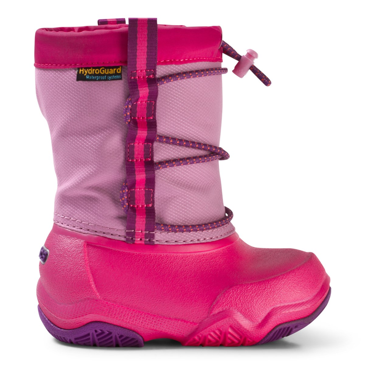 65663141fdd4 Crocs Kids Party Pink Candy Pink Swiftwater Waterproof Boot ...