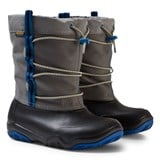 Crocs Kids Black/Blue Jean Swiftwater Waterproof Boot