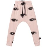NUNUNU Powder Pink Eye Baggy Sweatpants