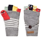 Barts Grey Puppet Gloves
