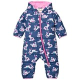 Hatley Rabbit Print Puffer Snowsuit