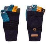 Barts Navy Puppet Gloves