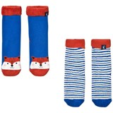 Joules 2 Pack of Fox and Stripe Socks