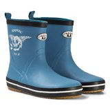 Animal Blue Printed Rubber Boot