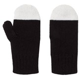 Papu Black and White Kivi Mitten
