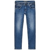 Pepe Jeans Blue Mid Wash Finlay Skinny Jeans