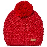 Barts Red Knitted Cers Beanie