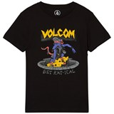 Volcom Black Ratical Graphic Tee