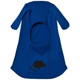 Mini Rodini Blue Mr Mouse Wool Balaclava